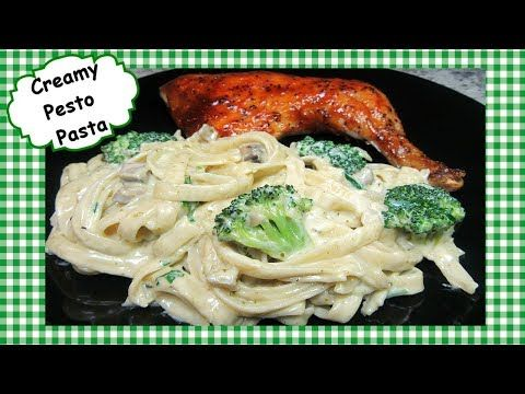 This video recipe is how to make a Creamy Basil Pesto Fettuccini Pasta that can be served as a main dish or side dish. This creamy pesto pasta recipe is easy, …