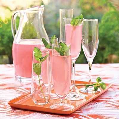 Simple shower recipes wedding shower recipes sparkling punch and sparkling pink punch 1 can frozen pink lemonade concentrate thawed 4 cups white cranberry juice cocktail 1 qt club soda chilled garnish fresh mint junglespirit Image collections