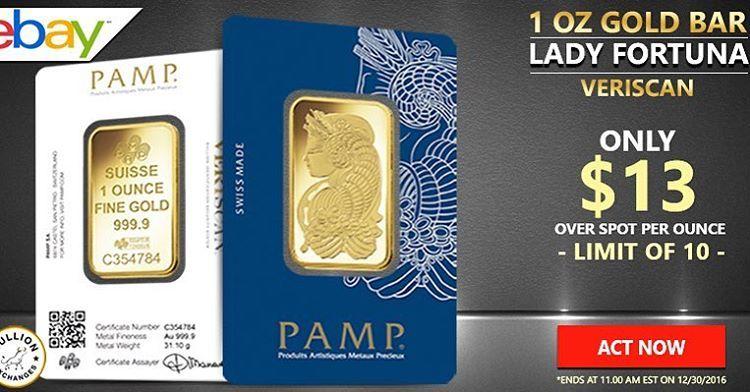 Http Www Ebay Com Itm Sale Price 1 Oz Gold Bar Pamp Suisse Lady Fortuna Veriscan 9999 Fine In Assa 161672790842 Hash Ite Fortuna Ebay Tailwind App