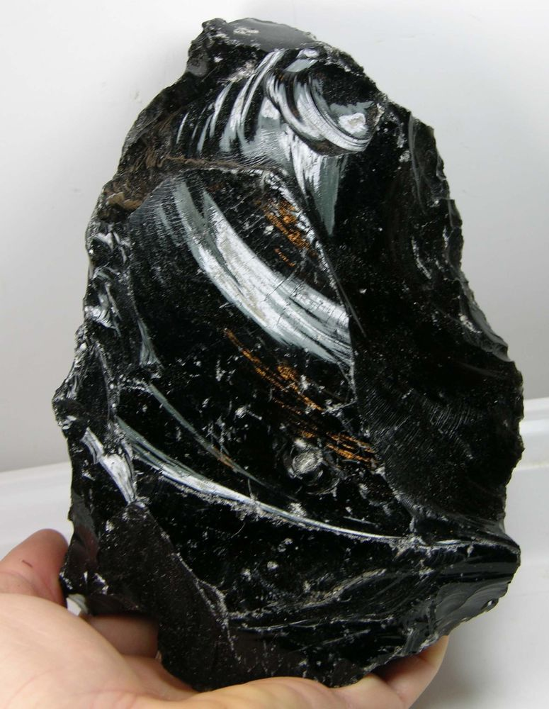 Natural Mineral Mineralogy Sample Volcanic Glass Obsidian