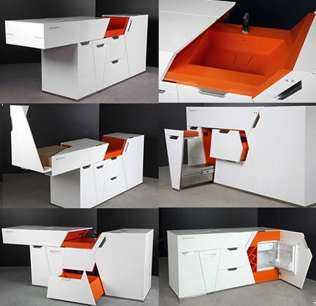 Boxetti Compact Furniture Kitchen Space Saving Furniture