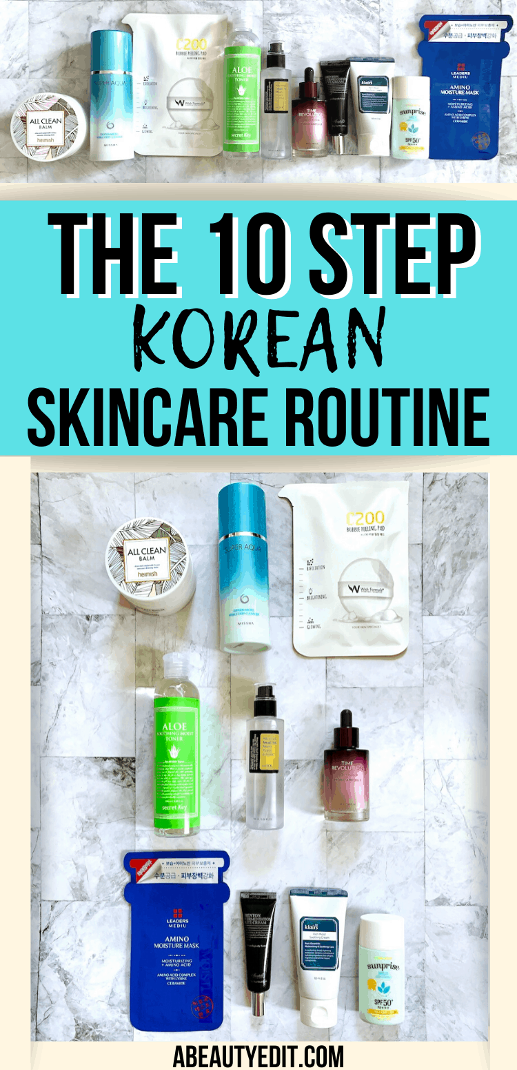How To Do The 10 Step Korean Skincare Routine Korean Skincare Routine Skin Care Routine Korean 10 Step Skin Care