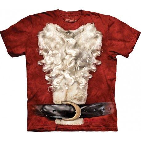 The Mountain Brand Santa Claus Suit Christmas Hoodie Sweater Sweatshirt red