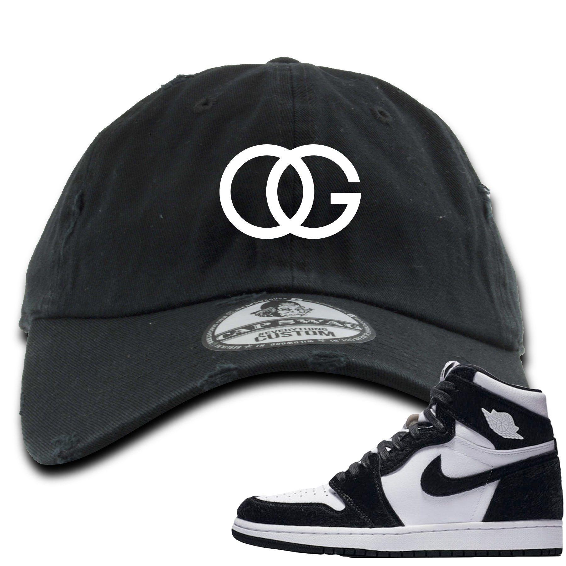 Jordan 1 Retro High OG WMNS Panda Sneaker Hook Up OG Logo