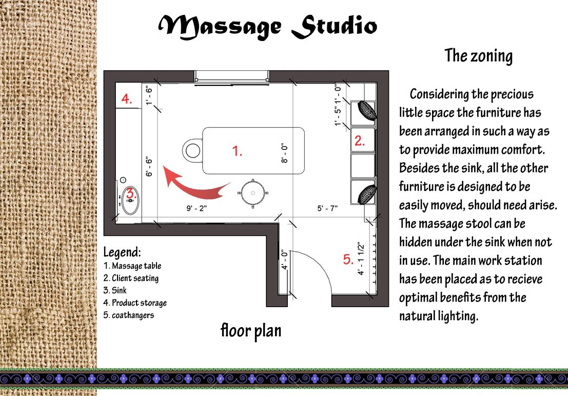 Massage Therapy Room Design Ideas Part - 20: Massage Therapy Studio Design | Librarygeekwoes