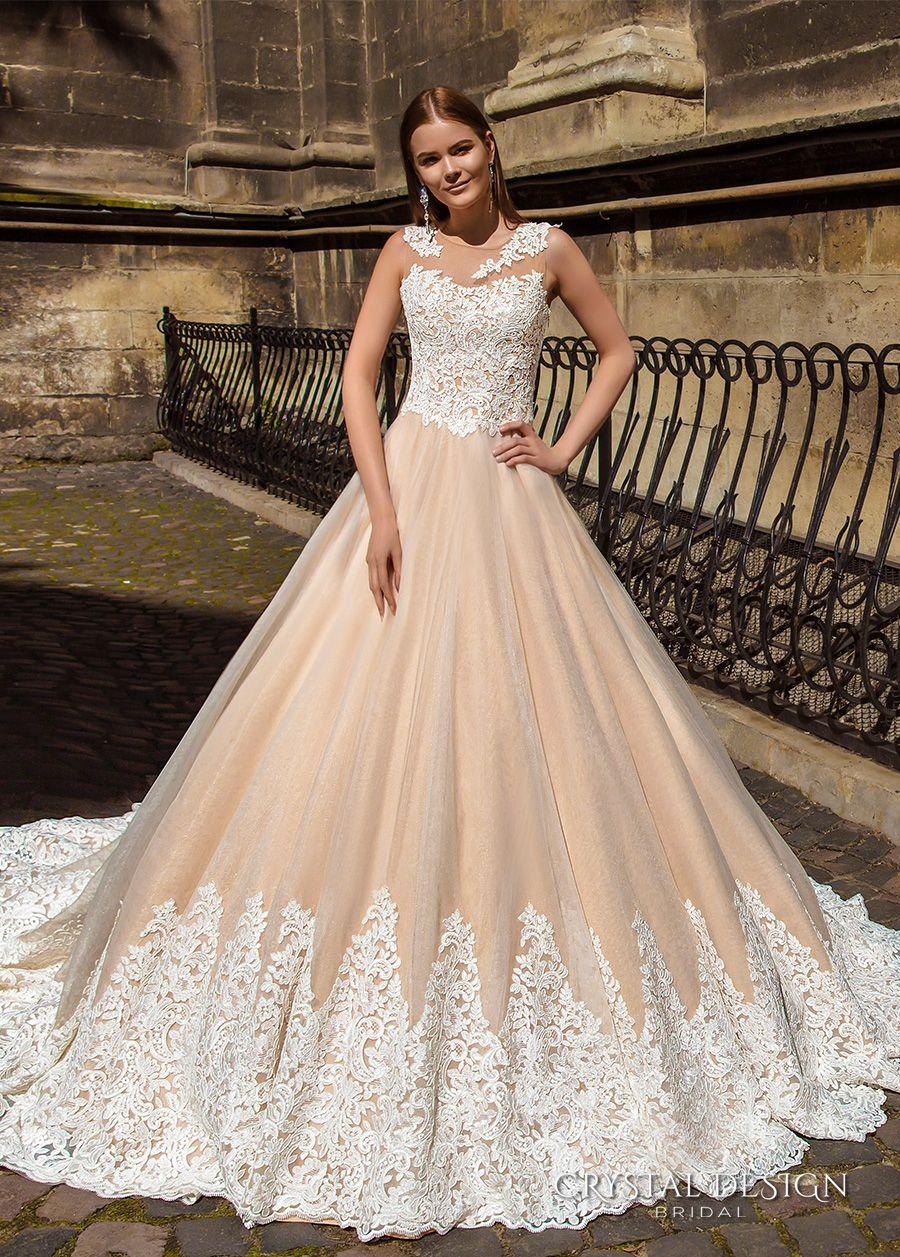Crystal Design 10 Wedding Dresses  Hochzeitskleid champagner