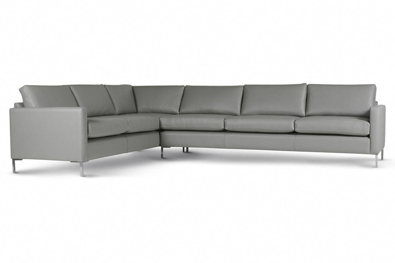 Large light grey Metro corner sofa from delcor.co.uk ...