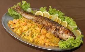 Anchova Grelhada Com Acompanhamento Receitas De Frutos Do Mar