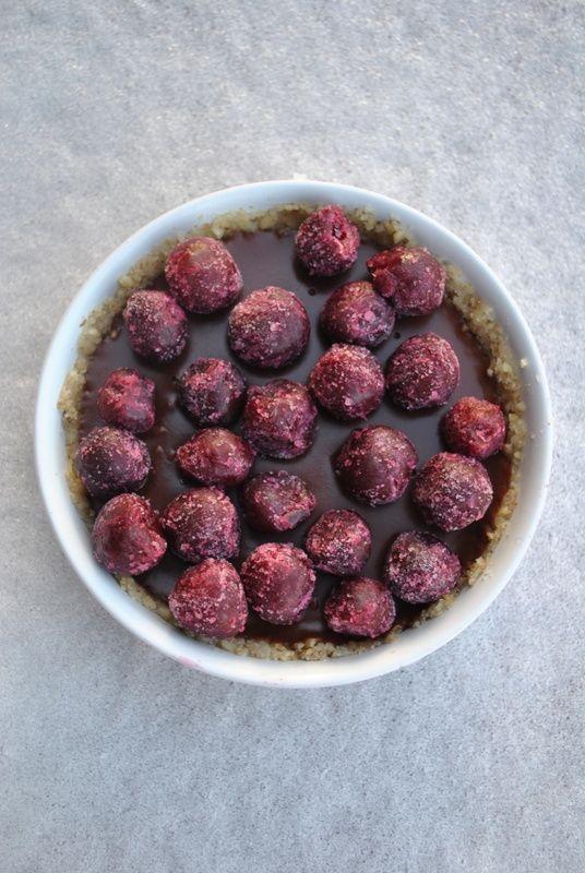 Chocolate Raspberry Tart Recipe + Extraordinary Vegan Cookbook Giveaway.