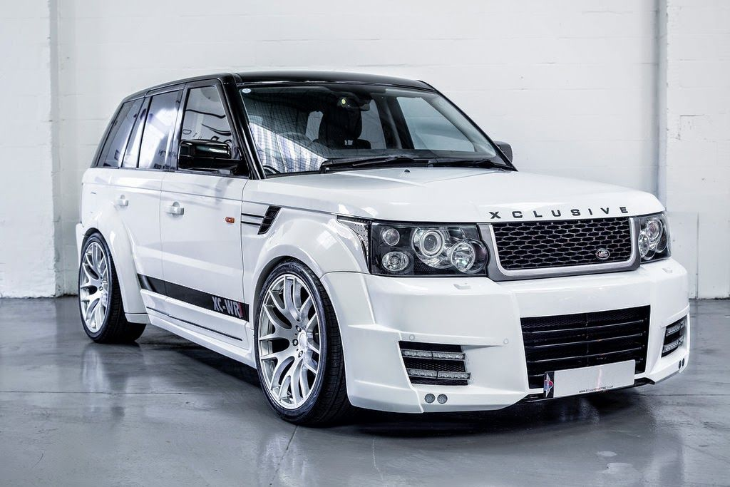 range rover sport xclusive wide body kit retro range. Black Bedroom Furniture Sets. Home Design Ideas