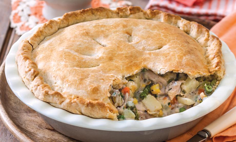 Pot Pie Perfection - Paula Deen   Cooking recipes, Chicken ...