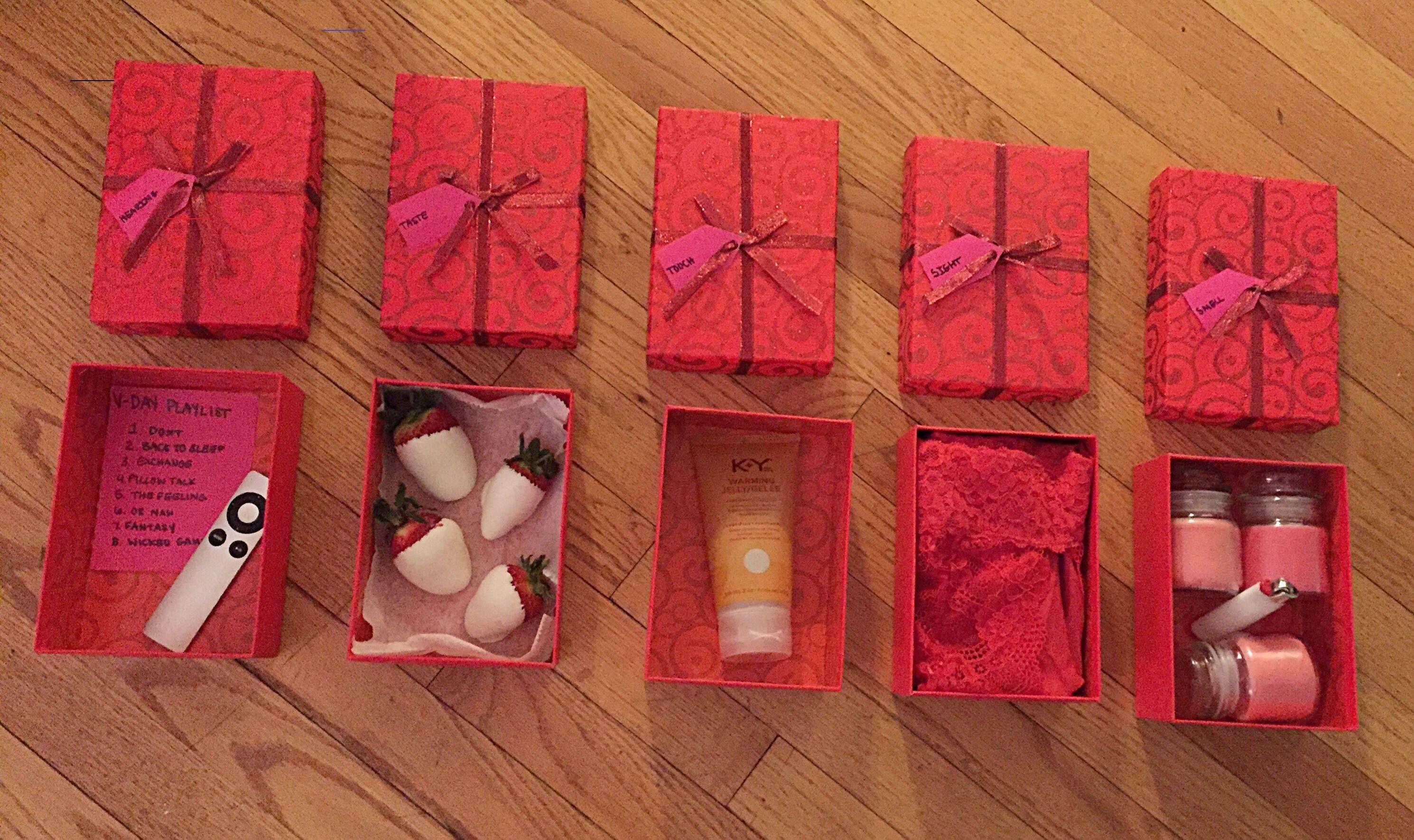 5sensesgiftforboyfriend in 2020 Diy valentines gifts