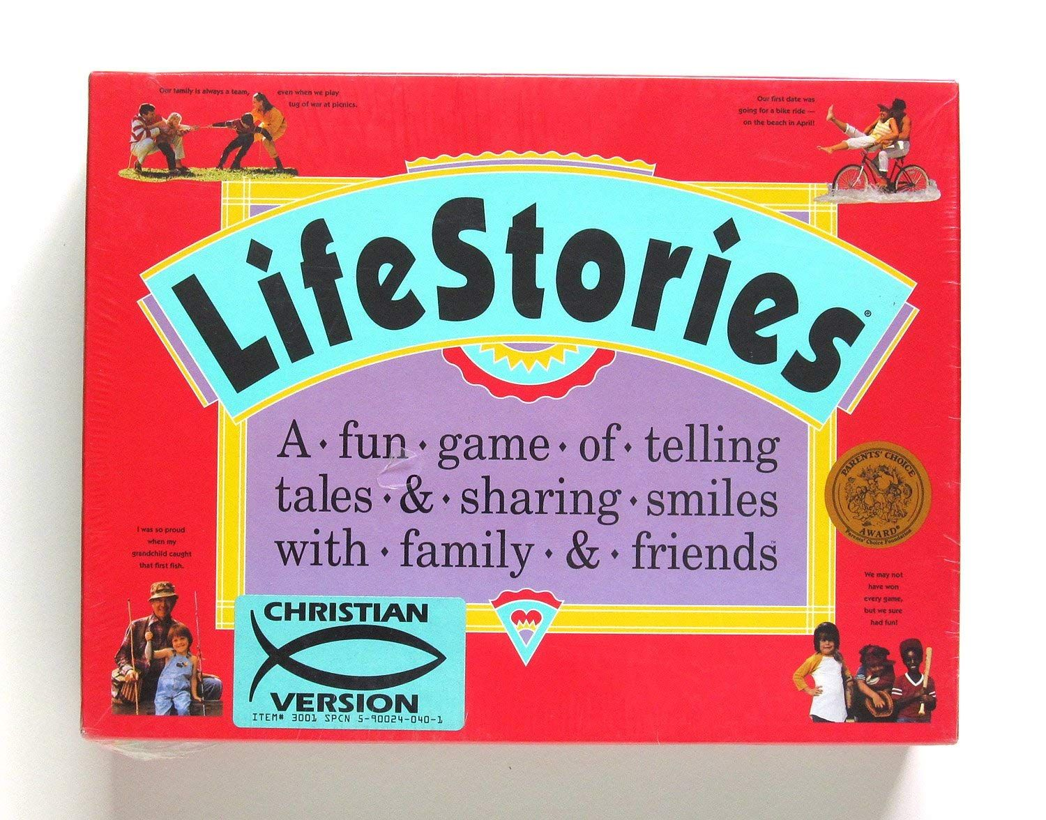 LifeStories; a Fun Game of Telling Tales and Sharing