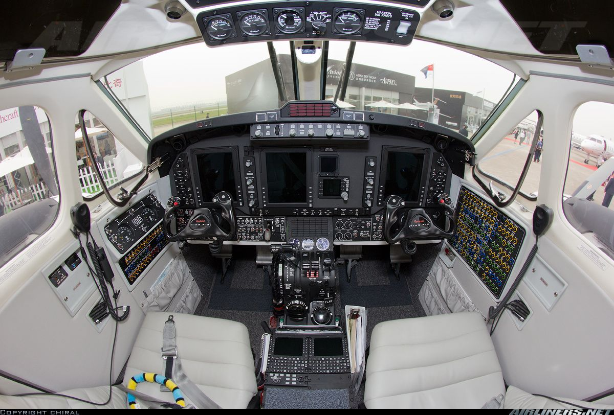 Hawker Beechcraft 350i King Air (B300) aircraft picture