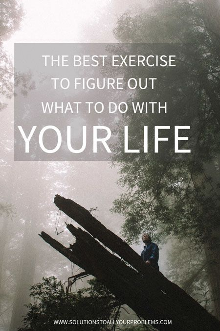 Not sure if you are on the right path? Try this simple but eye-opening exercise that will help you figure out what you should do with your life.