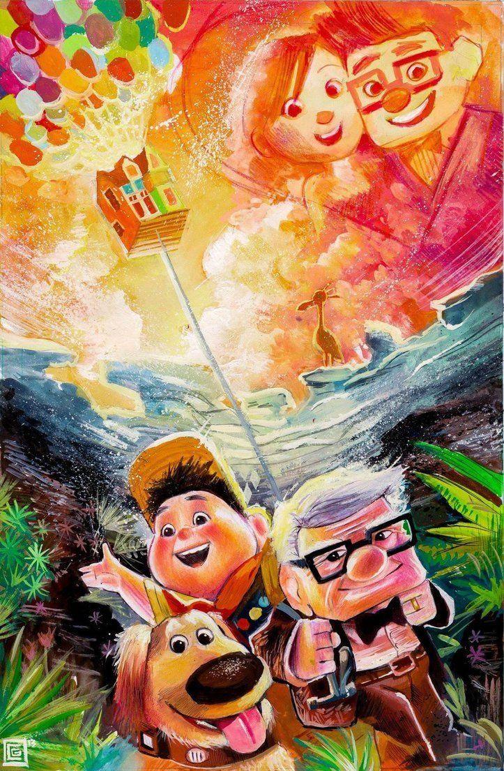Let S Have An Adventure Disney Up Disney Fan Animacion Disney
