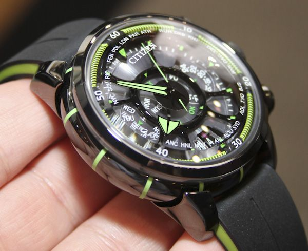 Citizen Eco Drive Satellite Wave Watch Hands On Father