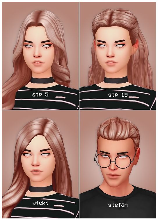 Pin By Justine Levy On Sims 4 Contenu Personnalise Sims Hair Sims 4 Sims 4 Cc