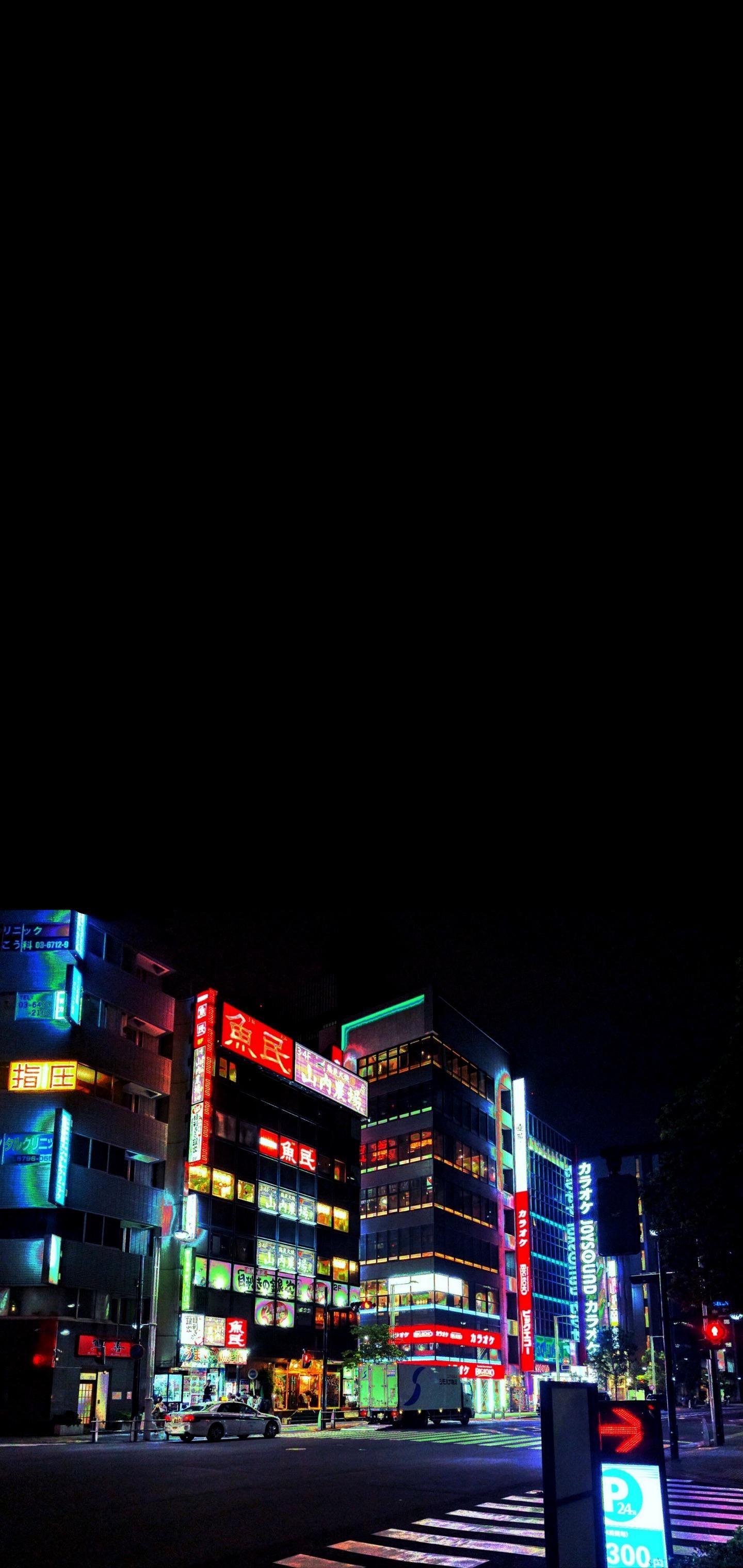 Nighttime Tokyo 1440x3040 In 2020 Iphone Homescreen Wallpaper Iphone Wallpaper Iphone Lockscreen