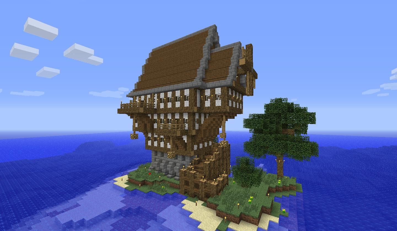 Steampunk Minecraft House