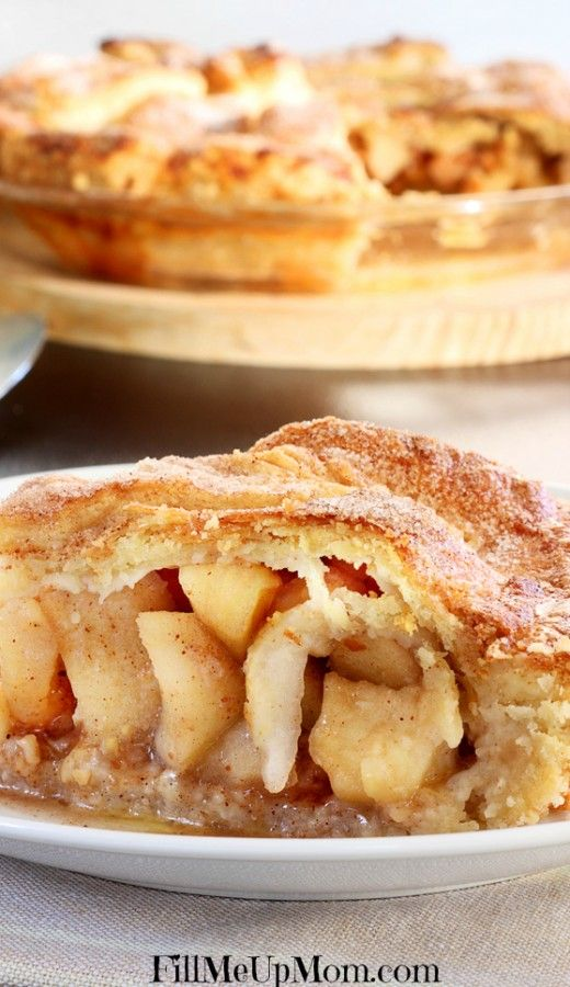 This was my grandmother's apple pie recipe. I have never seen another one quite like it. The best apple pie recipe hands down.