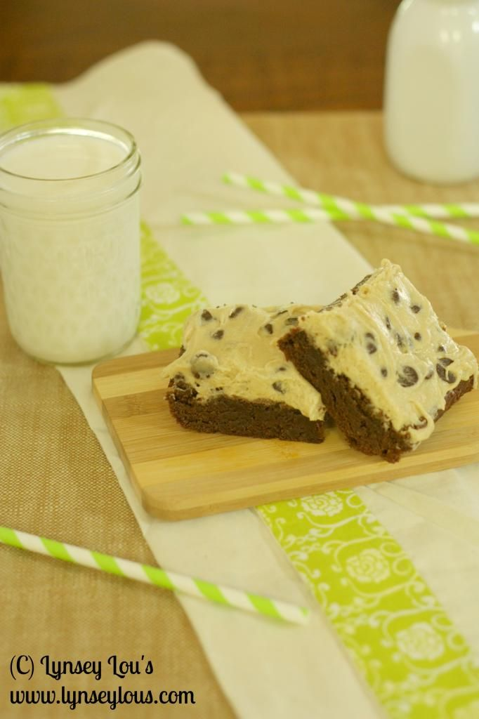 Lynsey Lou's: Cookie Dough Brownies