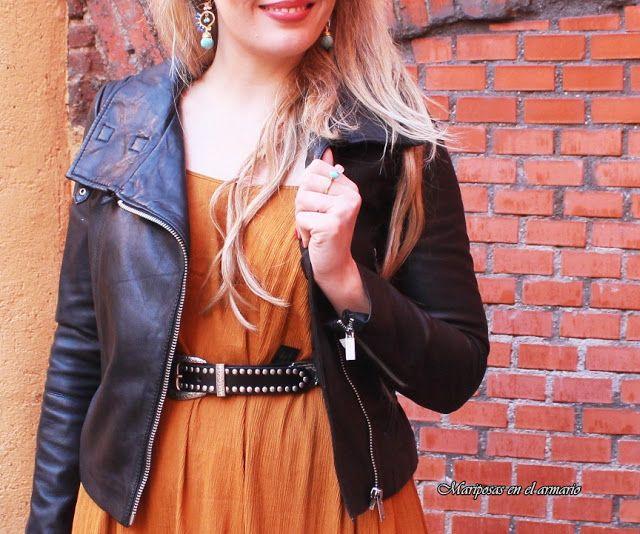 Mariposas en el armario: Vestido maxi de Mango con cazadora perfecto, estilo Griego ☺.