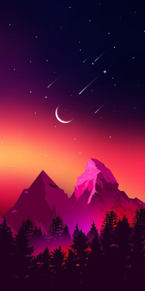 🔥 Nature Abstract Super Amoled Wallpaper Full HD (7) | image free dowwnload