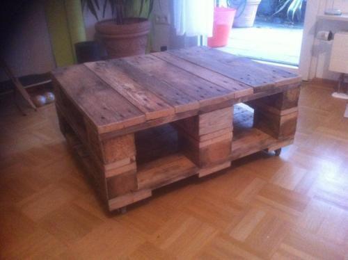 Palettentisch Wohnzimmertisch DIY In Mnster