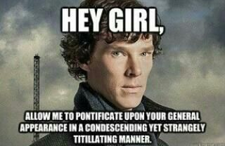 create your own Hey Girl Sherlock meme using our quick meme generator