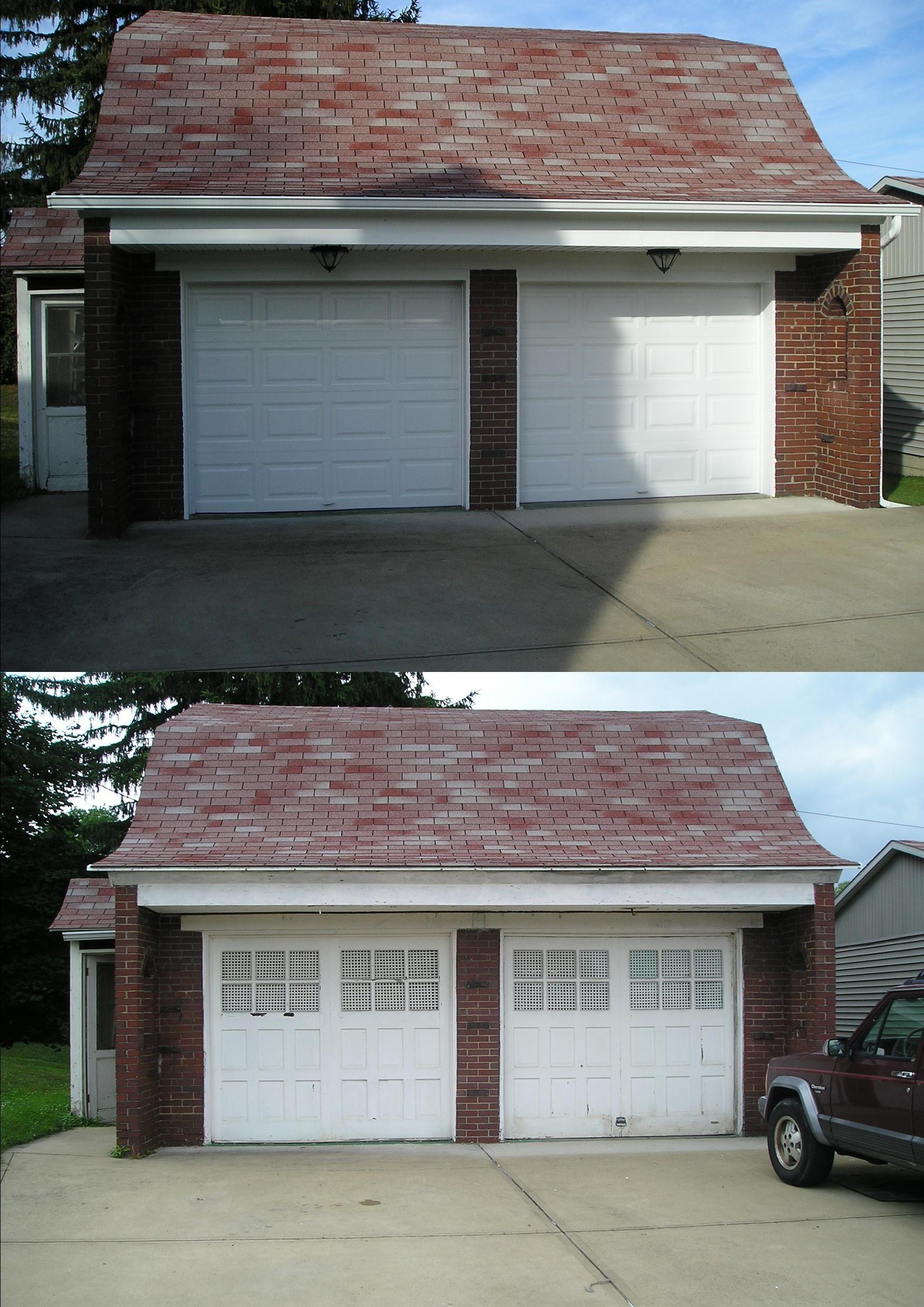 Clopay 4050 Garage Doors Installed By Thomas V Giel Garage Doors