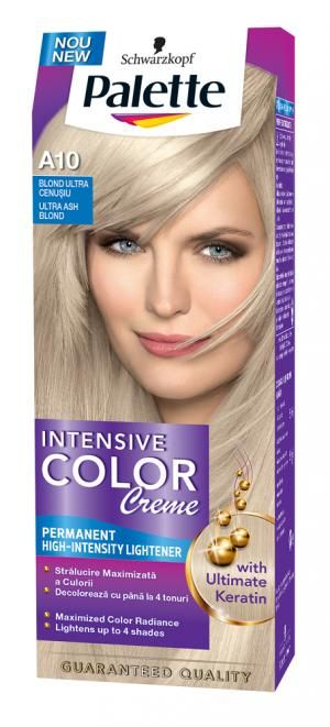 Vopsea De Par Palette Intensive Color Creme A10 Blond Cenusiu 929