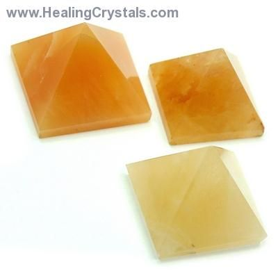 These Yellow Aventurine Pyramids are wonderful to use in the center of Crystal Grids as they can help focus energy. Pyramids also make wonderful shapes for display and are great for any meditation corner. Combine the power of Yellow Aventurine with the Sacred Geometry of a Pyramid. Yellow Aventurine is good for opening and balancing the Solar Plexus Chakra. Its energies can help people who have problems with power and control. Code HCPIN10 = 10% off your order at www.healingcrystals.com