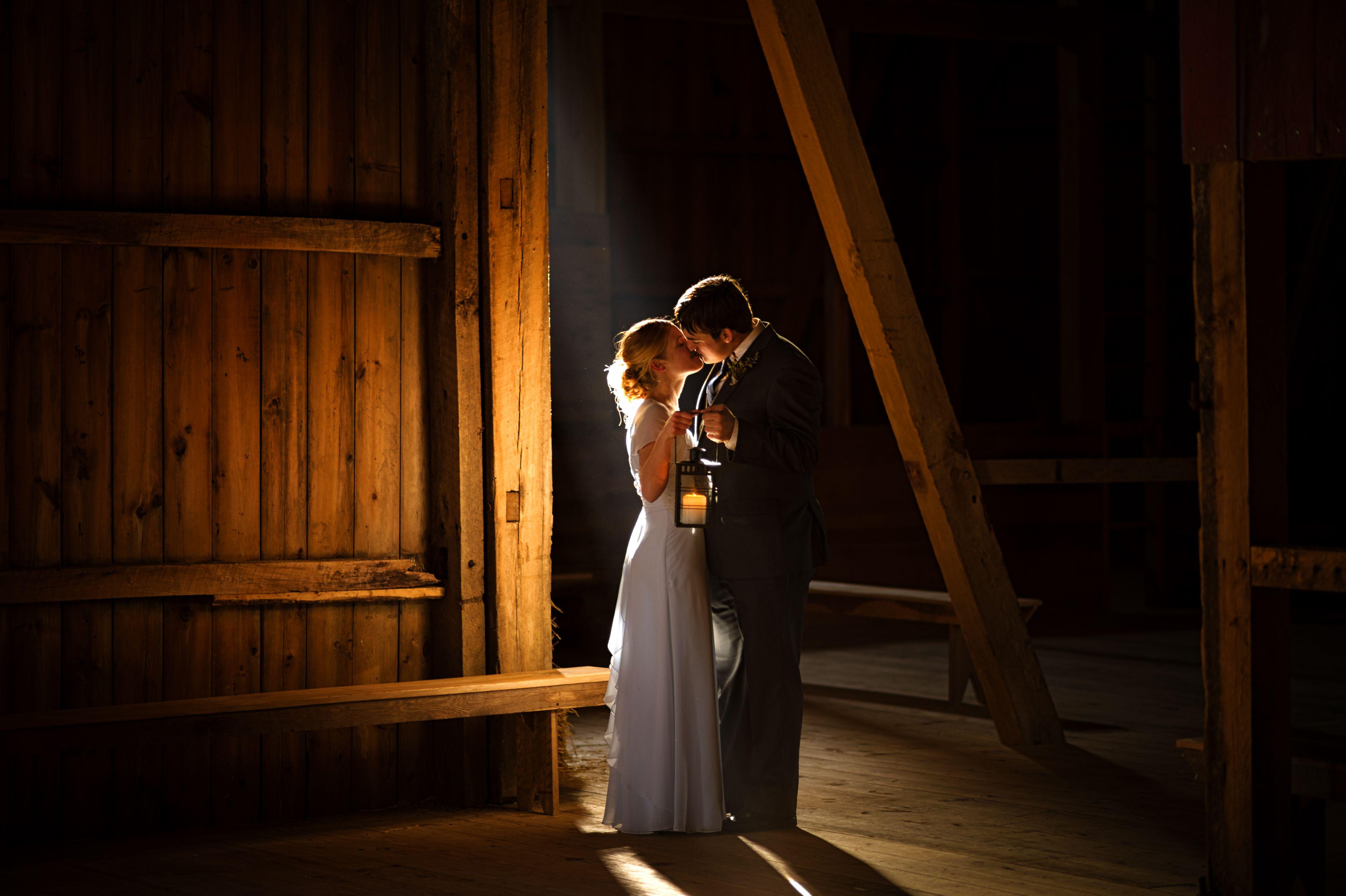 wedding picture locations akron ohio%0A Barn  wedding  bride and groom  portraits  holding a lantern  Barn Wedding