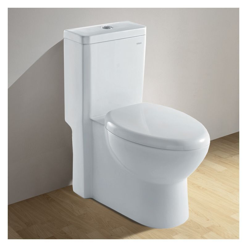View the Ariel CO1037 European 1.6 GPF Elongated One Piece Toilet ...