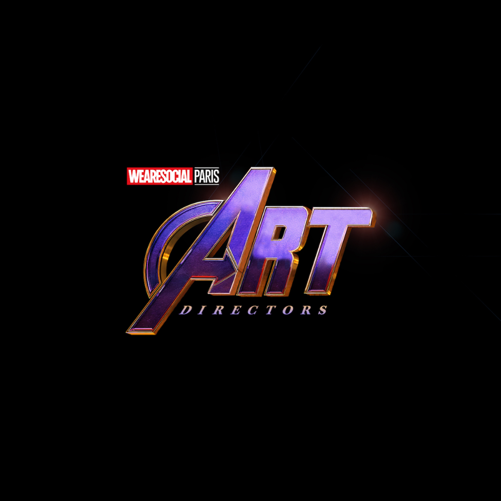 Agency Creates Avengers Inspired Superhero Logos For Agency Job Titles Avengers Instagram Campaigns Superhero Logos