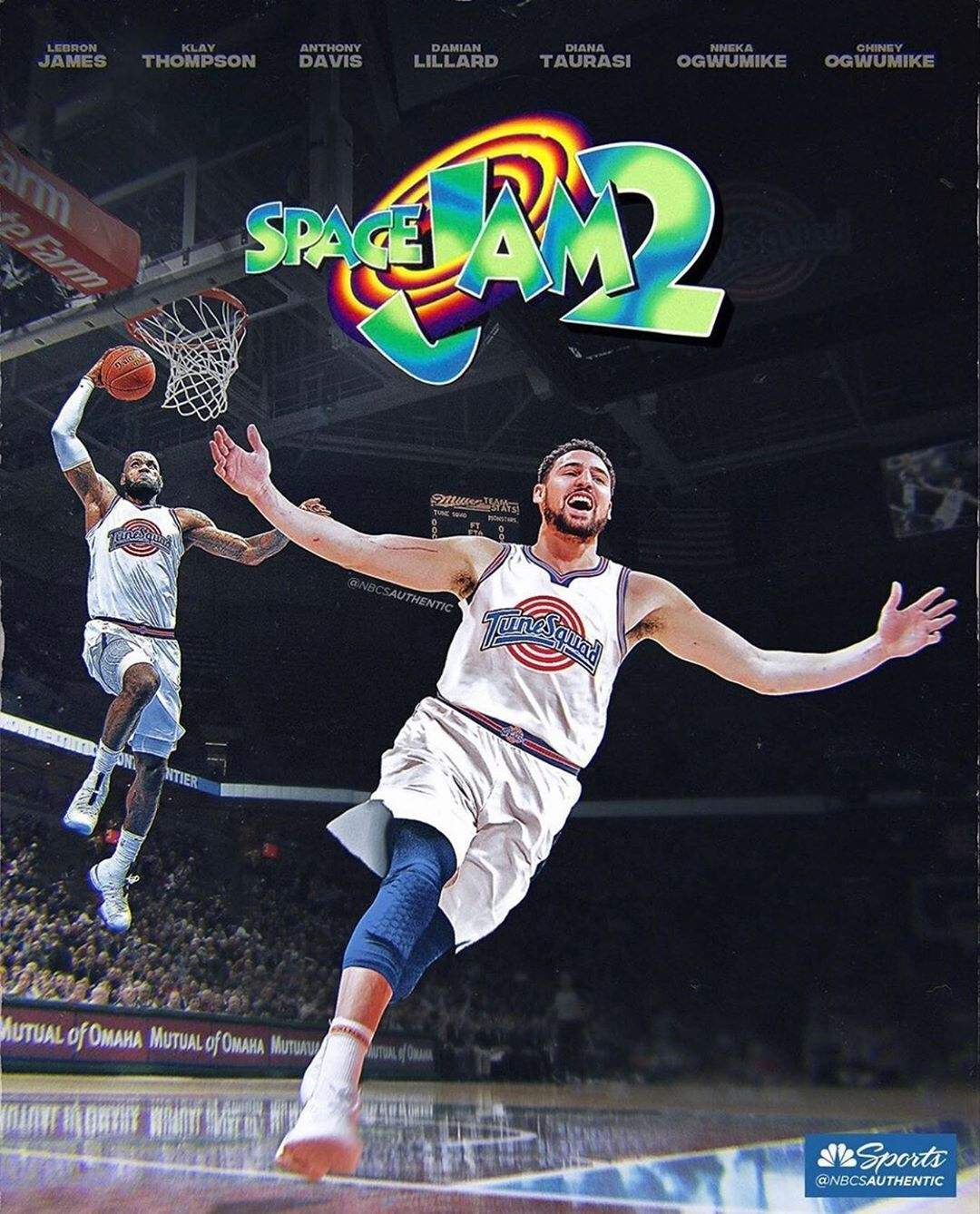Splash Brothers Fanpage On Instagram Klay Will Be In Space Jam 2