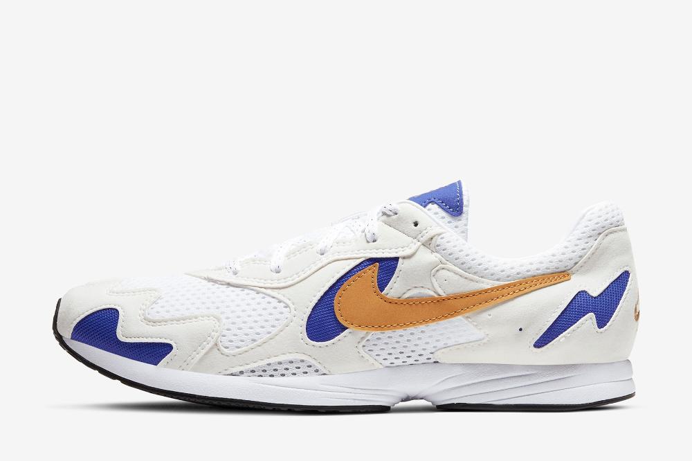 Nike Air Streak Light in White, Gold & Purple in 2020