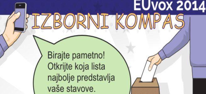 Predstavljen izborni kompas - EUvox 2014.