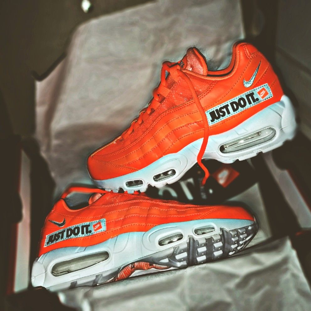 BUY Nike Air Max 95 Just Do It Total Orange | Kixify Marketplace