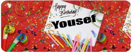 Résultats De Recherche Dimages Pour Happy Birthday Yousef Fêtes