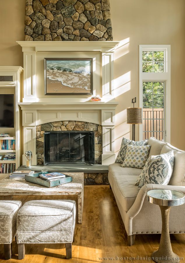 Nautical Details Inside A Waterfront Home On Cape Cod. ((Interior Design By  New England Lifestyles Design))