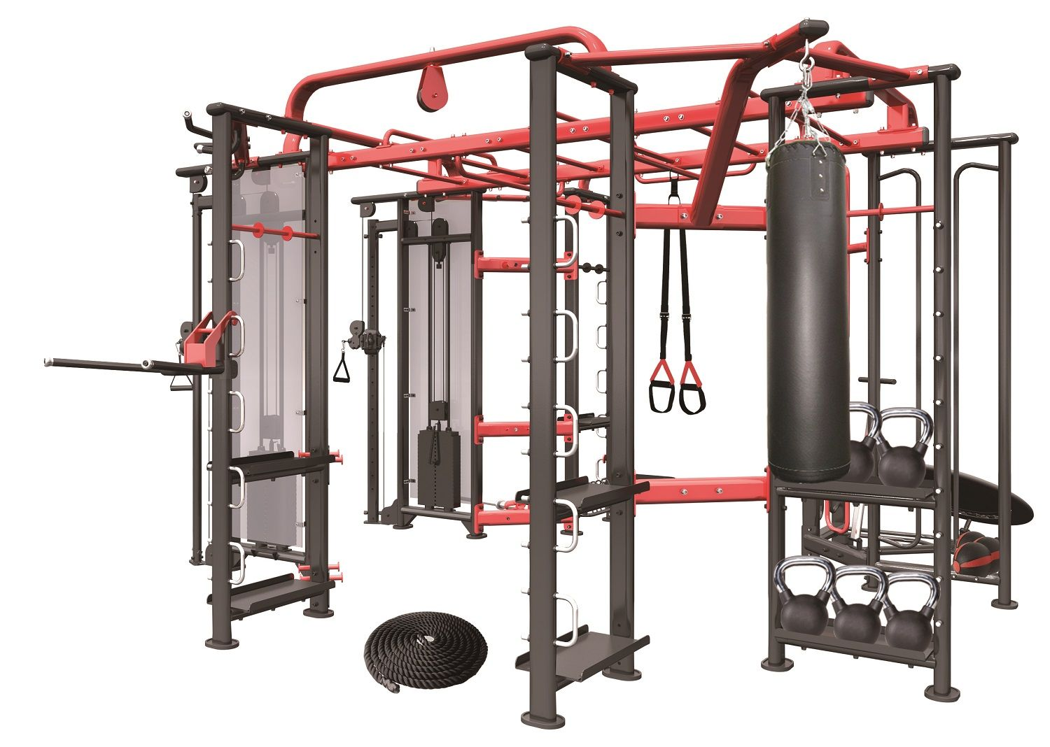 Aparatos Fitness Para Casa Power Racks And Smith Machines Cross Training Rig And Cable