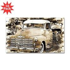 Classic Chevrolet Pick-up Truck Decal
