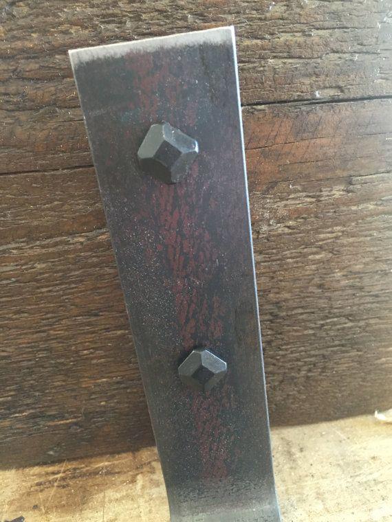 Conjuntos de 3 estantes de baño de madera por PacificoReclaimed