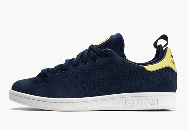 detailed look 3cf65 901c6 adidas stan smith blue