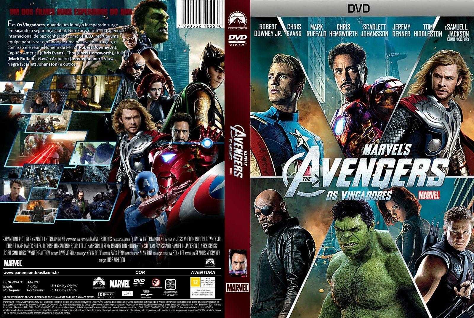 Amo demais❤💘 Os Vingadores: The Avengers  2012.
