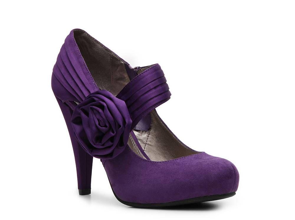 Shoes - DSW | Purple heels wedding