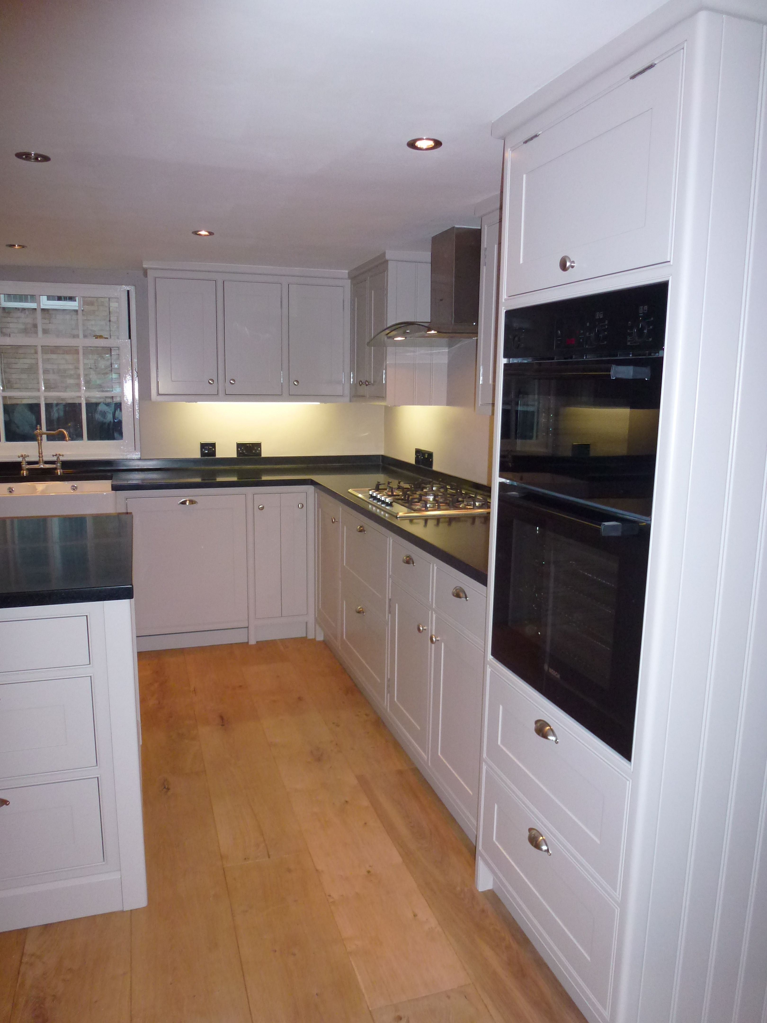 Best Handbuilt Kitchen Painted In F B Elephants Breath With 640 x 480