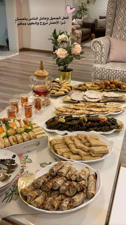 Pin By Sana Azhary On طبخات وضيافة عربية وعالمية Tea Party Food Food Table Decorations Buffet Food